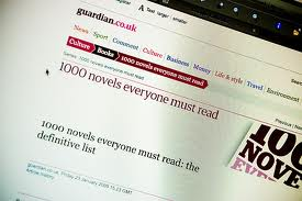 1000 novels that everyone must read according to the guardian junghyo sciox Image collections